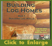 Building Log Homes Video