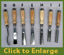 Heavy Duty Gouges