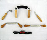 Scorps, Inshaves, Spokeshaves & Woodworking Drawknives